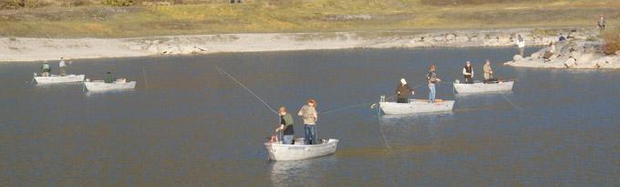 Pêche à la mouche au Lac de Barouchat - © Sergio Palumbo - 123 Savoie