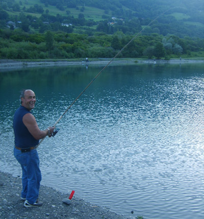 Pietro... un pêcheur heureux - © Sergio Palumbo - 123 Savoie