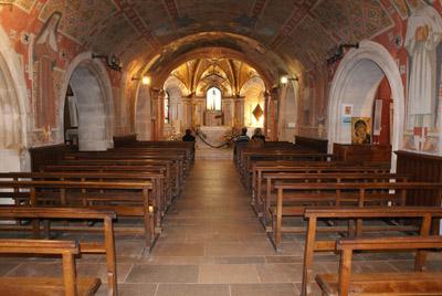 Dentro de la iglesia de Nuestra Señora de Myans © Sergio Palumbo - 123 Savoie