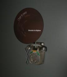 Téléphone Espace Alu