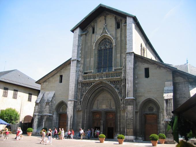cathédrale de Chambéry © 123 Savoie