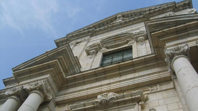 Fronton de la Sainte-Chapelle © 123 Savoie