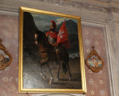 Tableau du saint martyr - © Sergio Palumbo - 123 Savoie