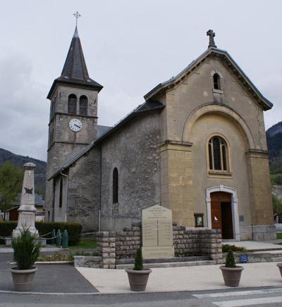L'église Saint-Maurice à Ecole - © Sergio Palumbo - 123 Savoie
