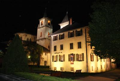 Musée Savoisien, de nuit © 123 Savoie