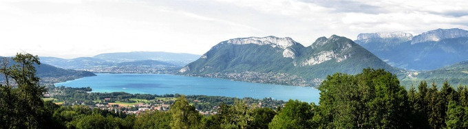 panorama lac d'Annecy © 123 Savoie