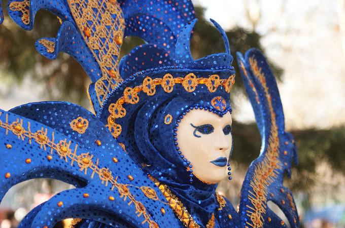 1. Le Roi, assurément - Carnaval d'Annecy 2014 © 123 Savoie