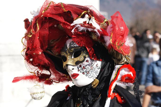 3. Le soucis du détail - Carnaval d'Annecy 2014 © 123 Savoie