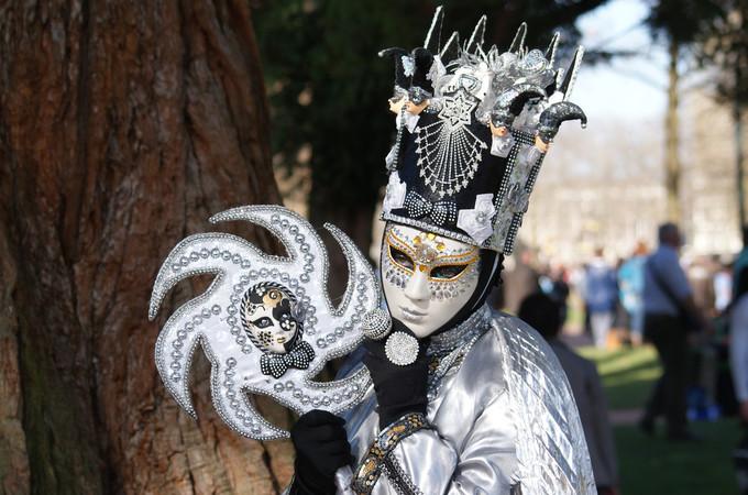 2. Parfaite mise en scène - Carnaval d'Annecy 2014 © 123 Savoie