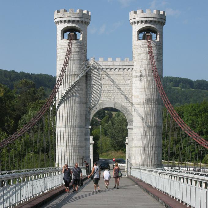 Le pont Charles-Albert à Allonzier-la-Caille © 123 Savoie