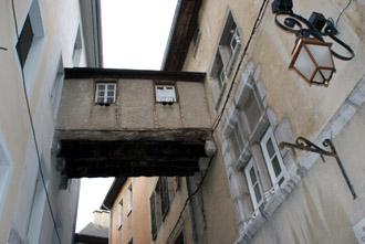 Dernière passerelle de la rue Basse du Château © Sergio Palumbo - 123 Savoie