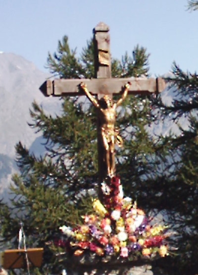 La croix de Notre Dame du Charmaix - © Sergio Palumbo - 123 Savoie