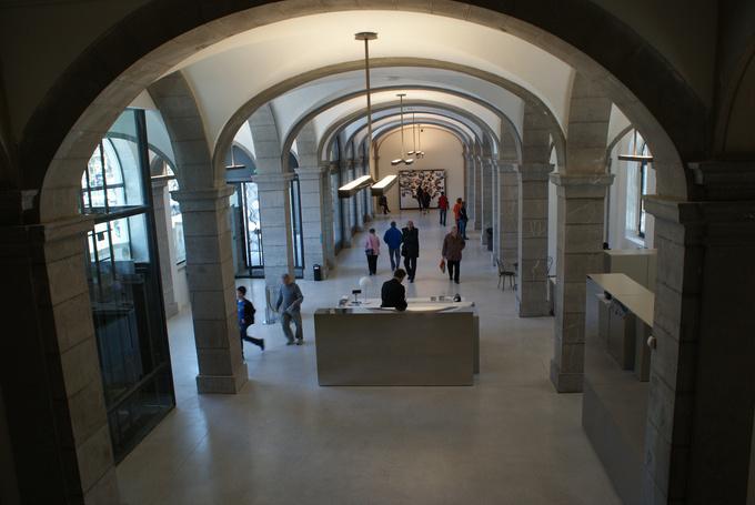 Hall du musée des Beaux Arts de Chambéry © 123 Savoie