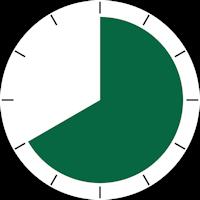 temps durée montre 40mn
