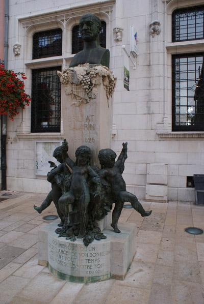 Buste de Brillat-Savarin à Belley © Sergio Palumbo - 123 Savoie