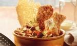 Croustillant de poulet pané au Beaufort