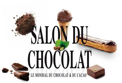 Logo Salon du chocolat de Paris