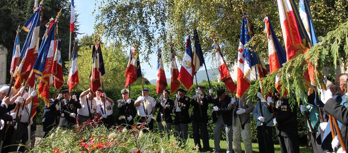 commémoration libération la motte-servolex © 123 Savoie