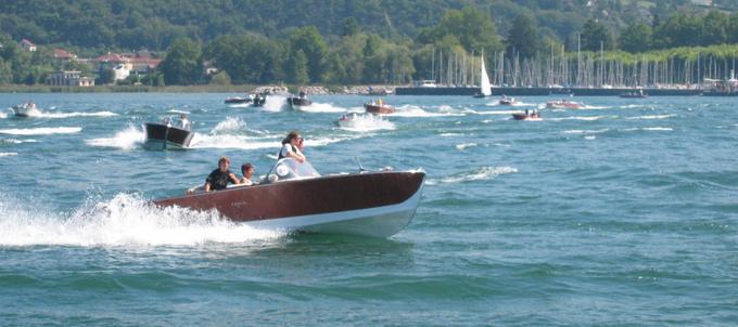 Navig'Aix 2004 - départ © 123 Savoie