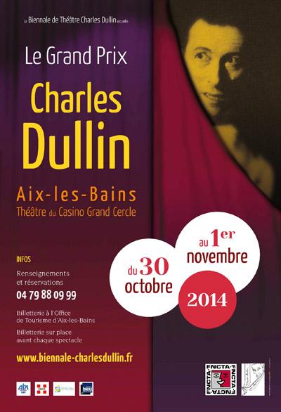 Affiche Biennale Charles Dullin 2014