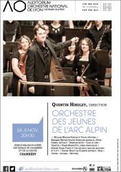 Affiche Concert des jeunes de l'Arc Alpin ONL