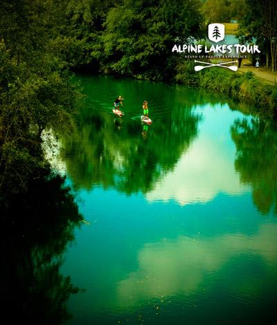 Alpine Lakes Tour sur le canal de Savières