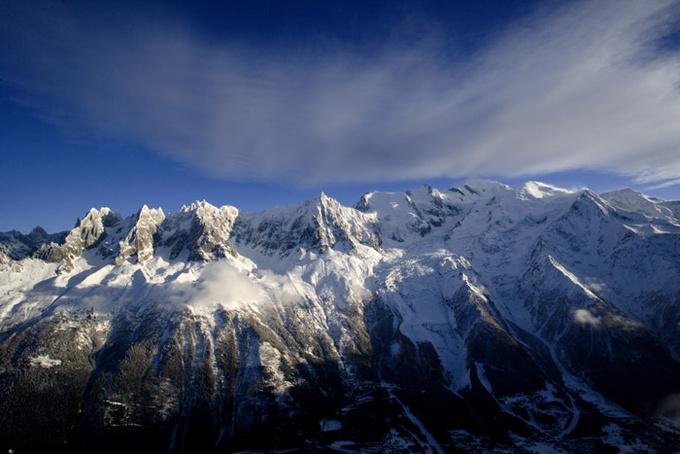 Chaîne du Mont-Blanc © OT Chamonix - Mario Colonel