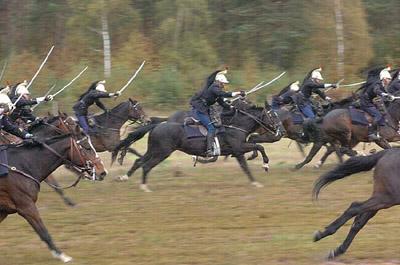 Charge de la Garde républicaine - © Garde républicaine