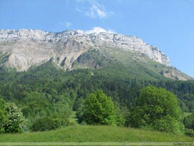 Le Margeriaz vu du col de Plainpalais © 123 Savoie
