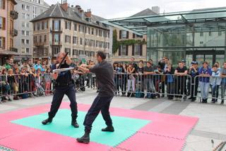 Les rencontres de la sécurité - démo 6 - © Sergio Palumbo - 123 Savoie