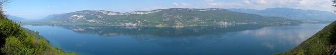 Panorama Lac du Bourget - © 123 Savoie