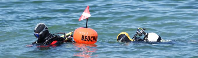 Plongeurs dans le Lac du Bourget - © Sergio Palumbo - 123 Savoie