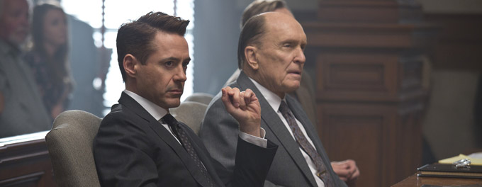 Robert Downey Jr. et Robert Duvall - © Warner Bros.