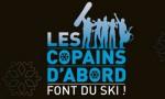 Affiche Les Copains d'abord font du ski