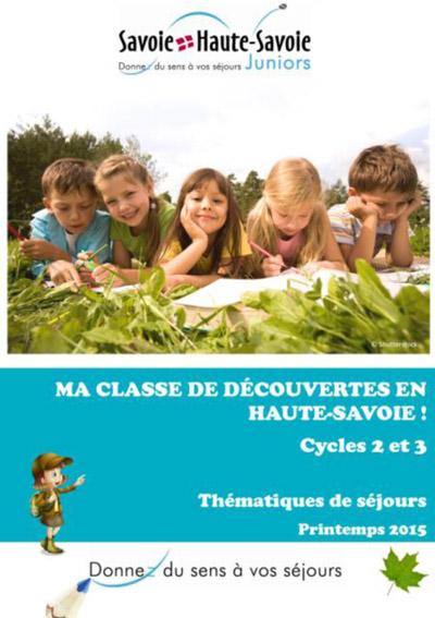 Affiche Mobilisation autour des classes de découvertes