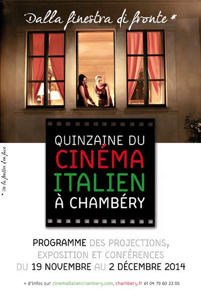 Affiche Quinzaine Cinéma Italien 2014 Chaméry