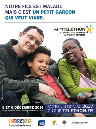Affiche Téléthon 2014 Lubin