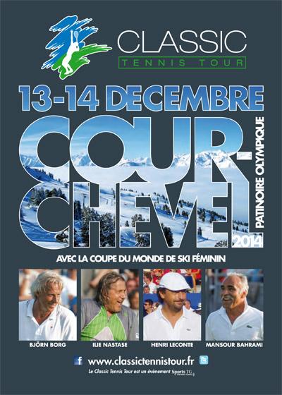 Affiche le Classic Tennis Tour à Courchevel