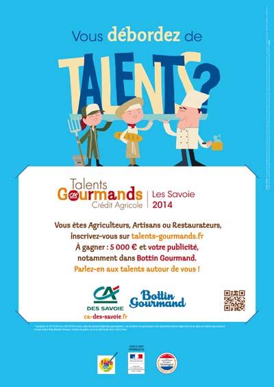 Concours Talents Gourmands Crédit Agricole des Savoie