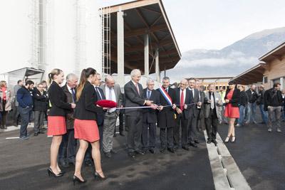Inauguration du Centre de Bonneville
