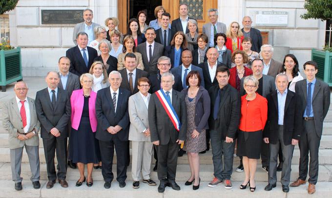 Prise de vue réalisée samedi 12 avril 2014 à l'Hôtel de ville de Chambéry - © Sergio Palumbo - 123 Savoie