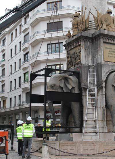 Dépose des Eléphants 4 - © Sergio Palumbo - 123 Savoie