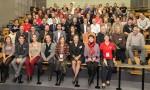 """Les étudiants, diplômés et équipes pédagogiques participant à la Rencontre Professionnelle 20 ans SGM (rejoints par 250 """"camarades de promotion"""" au Dîner de Gala organisé le même soir)"""