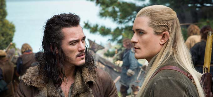 Luke Evans et Orlando Bloom - © Warner Bros. France