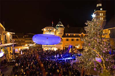 Sapin d'art 2014 à Megève - © Bruno Malegue