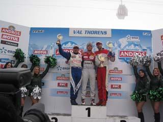 Trophée Andros Electrique ERDF à Val Thorens le 7 décembre 2014 - Remise des prix 1