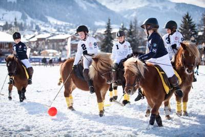 BMW Polo Masters de Megève 2015 - Les kids - © Morgane Delfosse