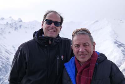 Dr Philippe Balagna et Jean-Pierre Rougeaux