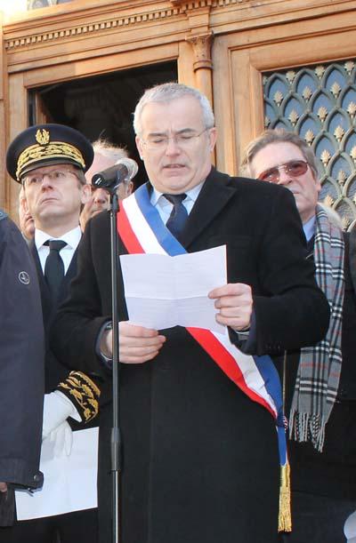 Je suis Charlie - Chambéry Michel Dantin - © Sergio Palumbo - 123 Savoie