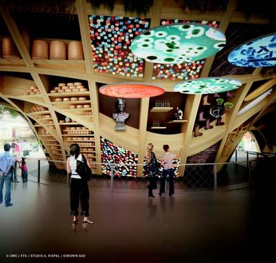 Pavillon France de l'Exposition Universelle  Milan 2015 - © Adeline Rispal